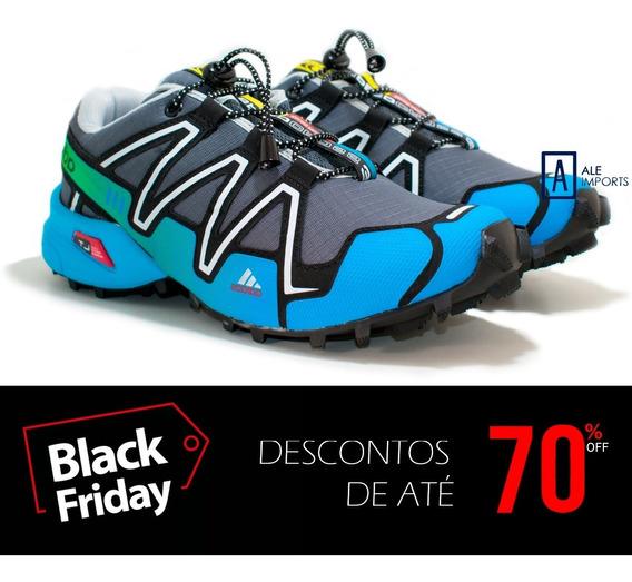 Tênis Masculino adidas Speedcross 3 4 Trava Running Trilha