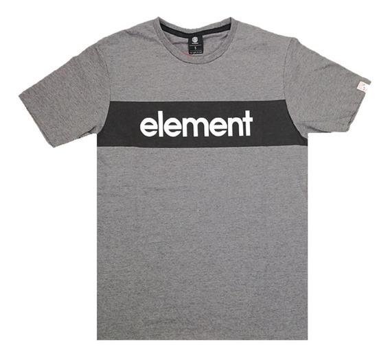 Remera De Hombre Element Primo Panel Tee 21107017 Cgr