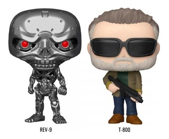 Funko Pop Terminator Dark Fate T-800 Y Endoskeleton 2 Figura