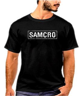 Camisa, Camiseta Sons Of Anarchy Samcro Oferta Relampago