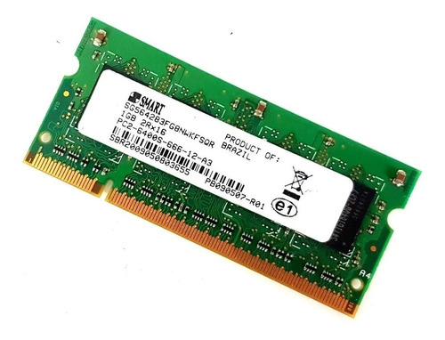 Memória 1gb Notebook Ddr2 Pc2 6400s 800mhz 2rx16 Nova Nfe