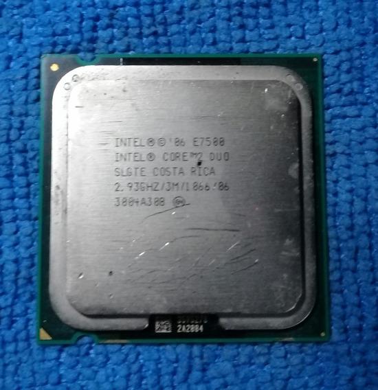 Processador Core 2 Duo E7500 2.93 Ghz Lga 775