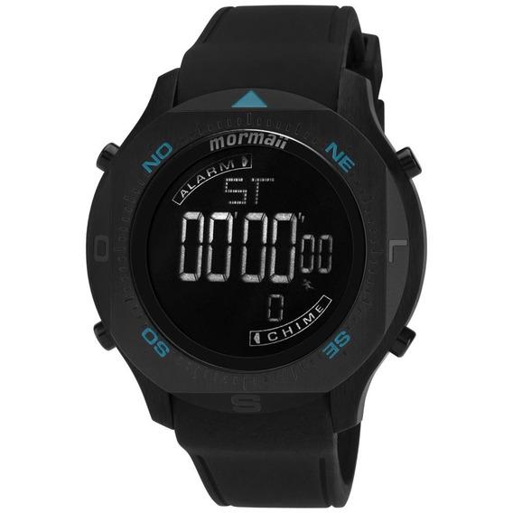 Relógio Masculino Mormaii Acqua Mo11273/8p 50mm Preto