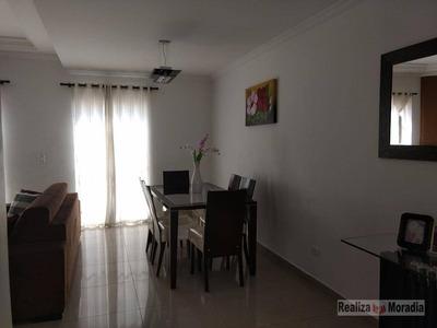 Casa Em Condomínio Com 03 Dormitórios (01 Suíte), 02 Vagas, Quintal Na Granja Viana - Ca0422