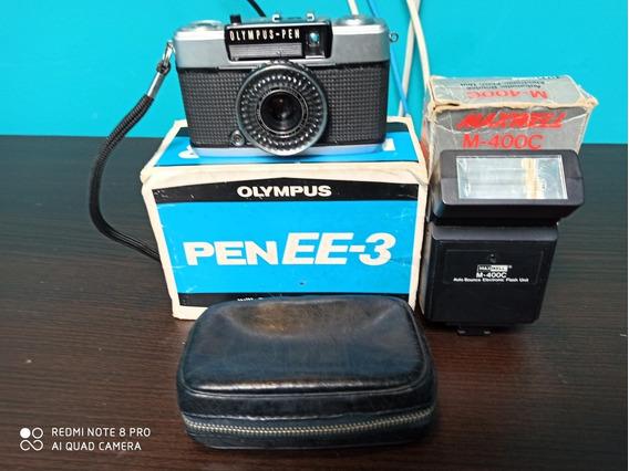 Câmera Fotográfica Marca Olympus Pen Ee-3