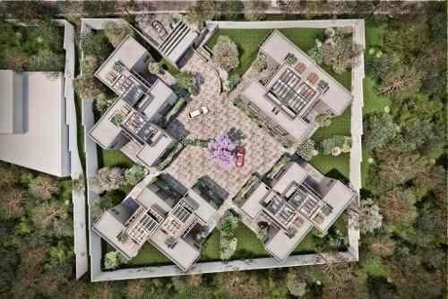 Bloque Contadero: Preventa Lujosa Y Exclusiva Residencia De Estilo Contemporáneo En Conjunto Privado