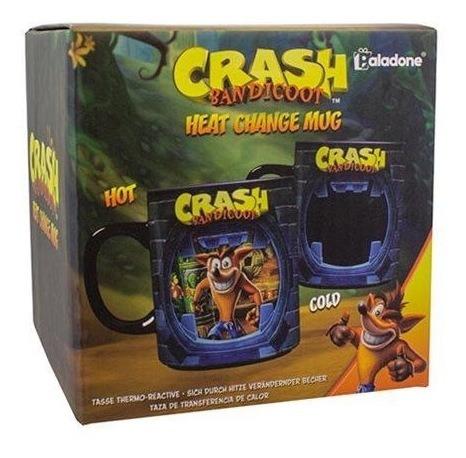 Imagen 1 de 3 de Taza Reactiva Crash Bandicoot