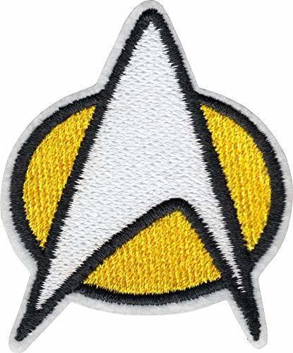 Star Trek - Insignia De La Flota Estelar - Parche Bordado Pa
