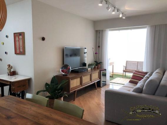 Cobertura Duplex À Venda - 166m² Com 3 Dormitórios, Área De Serviço E 3 Vagas De Garagem - Butantã - Sp - Ml1198