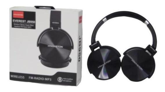 Fone De Ouvido Everest Jb950 H´maston Bluetooth Headset Mp3