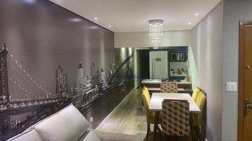 Cobertura Com 3 Dormitórios À Venda, 220 M² Por R$ 800.000,00 - Vila Pires - Santo André/sp - Co0025