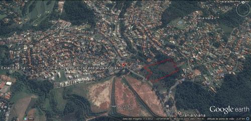 Imagem 1 de 7 de Área Residencial À Venda, 31.000 M2,  Granja Viana, São Paulo Ii, Cotia. - Ar0587