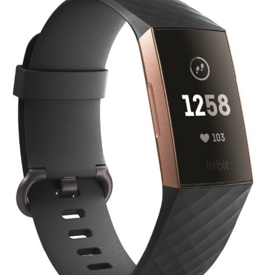 Pulseira De Silicone Para Fitbit Charge 3