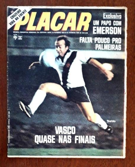 Revista Placar 128 - Abril-1972-ótima-poster-time Do Grêmio