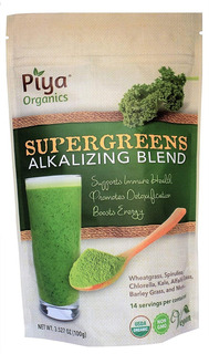 Mezcla Supergreens Alcalinizante