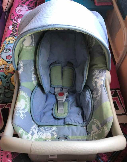 Bebê Conforto Galzerano Com Base E Toldo