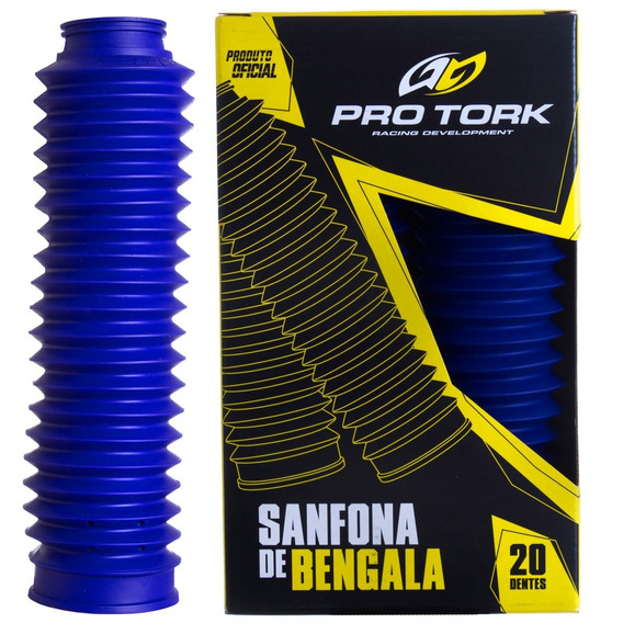 Sanfona De Bengala Tdm 225 20 Dentes Pro Tork Azul