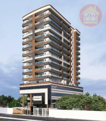 Apartamento À Venda, 67 M² Por R$ 389.128,67 - Canto Do Forte - Praia Grande/sp - Ap4455