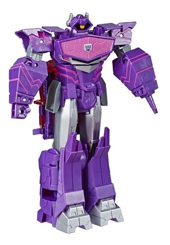 Boneco Transformers Cyberverse Shockwave Hasbro E7113