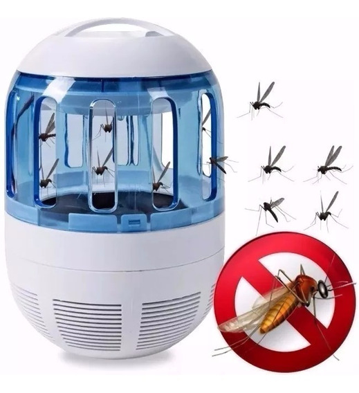 Luminária Led Armadilha Abajur Pega Mosquito Dengue Pernilon