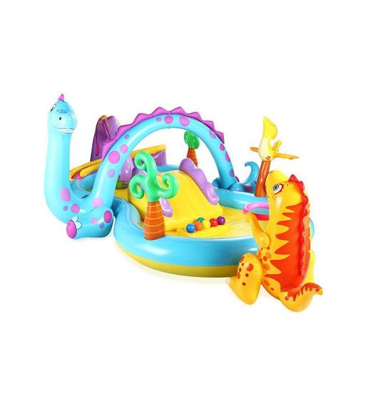 Piscina Infantil Inflable Intex Dinosaurios // Bamo