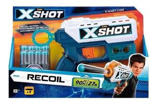 Pistola X-shot Kickback O Recoil Lanza Dardos 27m Niños