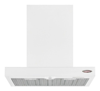 Campana Slim Cocina 60 Color Blanco Luz Led Doble Turbina
