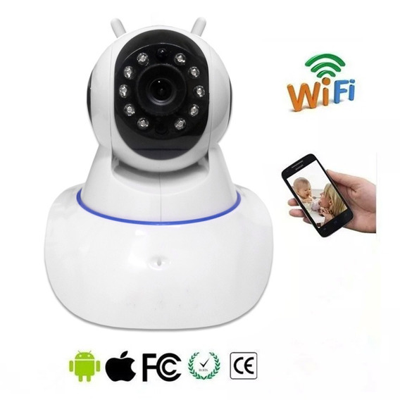 Camera Ip 2 Anternas Hd 1.3mp Onvif P2p Ir (wi Fi)