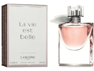 Perfume Dama Lancome La Vida Es Bella 100 Ml Edp Original Us