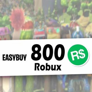 800 Robux Roblox - Todas Las Consolas - Mercadolider Gold