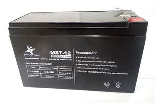 Bateria Star Tec 12v/7ah Repuesto Para Ups