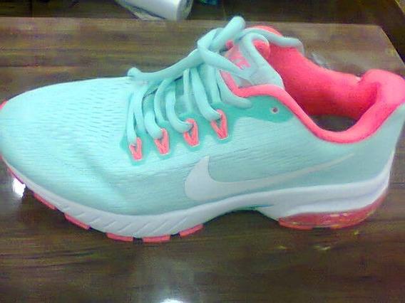 Tenis Nike Air Max Motion Azul Bebe E Rosa Nº34 Original