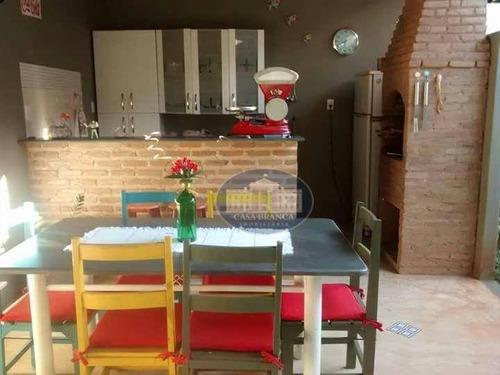 Imagem 1 de 17 de Casa Residencial À Venda, Água Branca I, Araçatuba. - Ca0792
