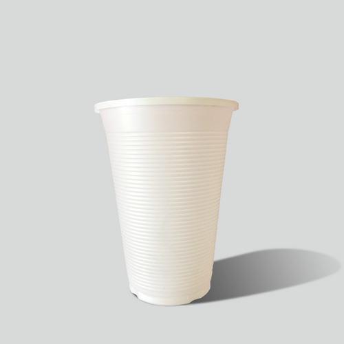 Vaso Blanco 8oz. Biodegradable Reyma®   Base Fecula De Maiz
