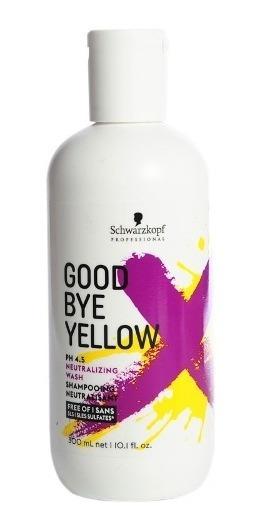 Schwarzkopf Good Bye Yellow Shampoo Neutralizante X 300 Ml