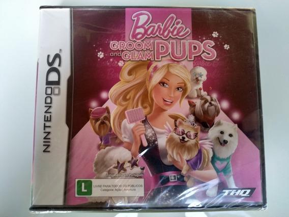 Barbie Groom And Glam Pups Nintendo Ds Original Novo Lacrado