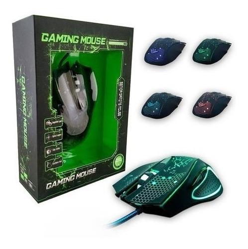 Mouse Gamer Óptico F3 1600dpi Usb Preto G6