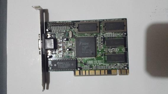 Placa De Video Pci Trident Tgui-9680-1 4mb Raridade
