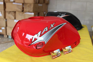 Tanque Max 125 Sundown Vermelho 2008 Em Diante