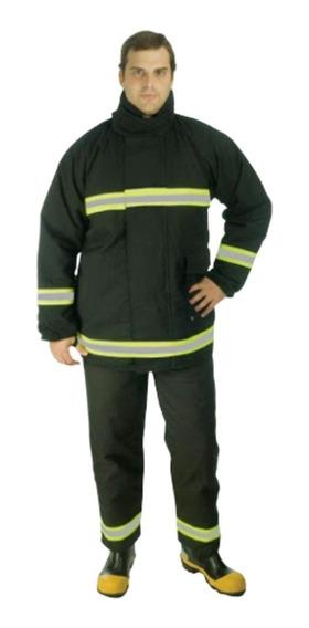 Conjunto De Combate A Incêndio Blusao + Calça - Bombeiro