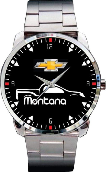 Relógio De Pulso Personalizado Silhueta Montana- Cod.gmrp144