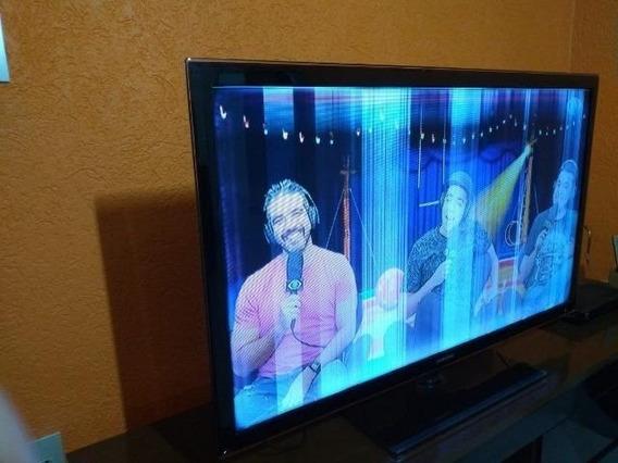 Tela Da Tv Smart Tv Led 46 Pol Samsung Un46d5500 Com Defeito