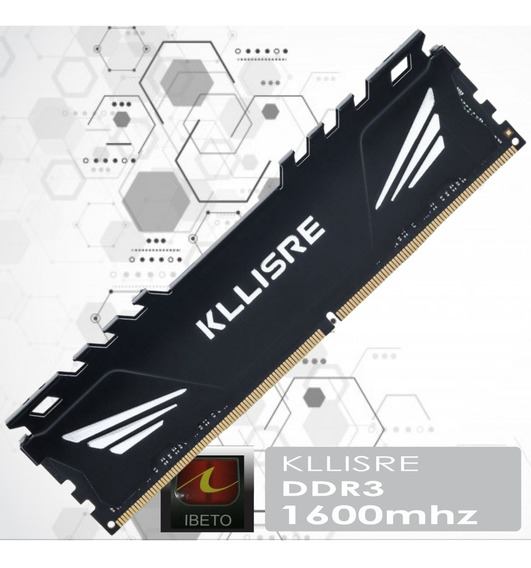 Memoria Dissipador Game Kllisre 8gb Ddr3 1600mhz Pc3-14900