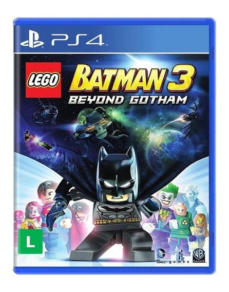Jogo Lego Batman 3: Beyond Gotham - Ps4 Lacrado Novo