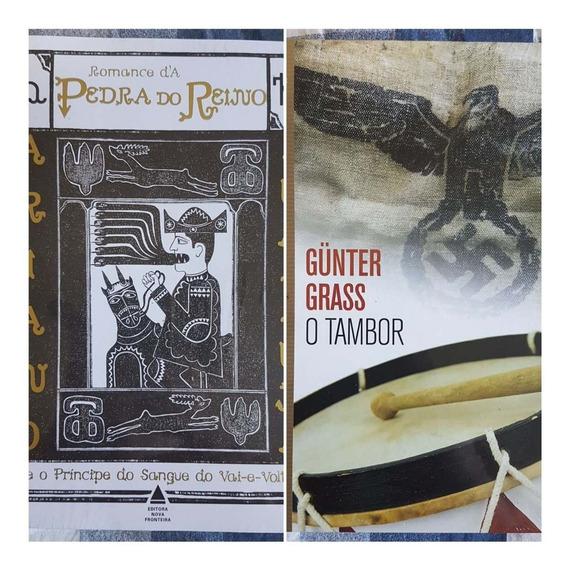 Romance Da Pedra Do Reino E O Tambor 2 Livros