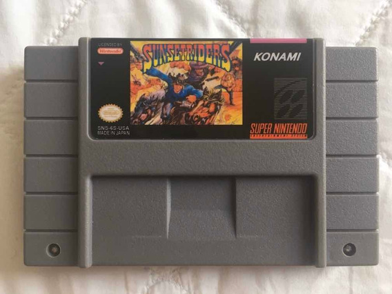 Sunset Riders Cartucho Paralelo Para Super Nintendo.