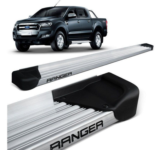 Estribo Lateral Ranger Cd 2013 2014 2015 Aluminio Natural A3