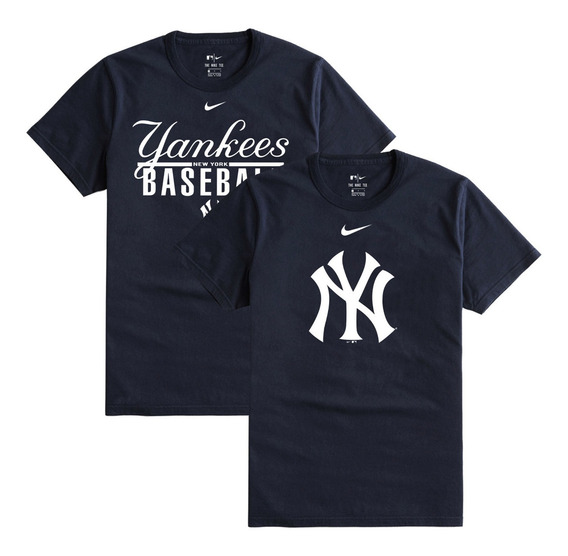 2 Playeras Camisetas Nike Pack Playeras Yankees Caballero