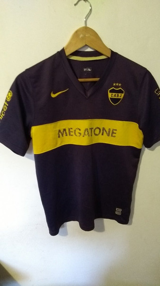 Camiseta De Boca Nike Original Talle 14/16niño Dama Megatone