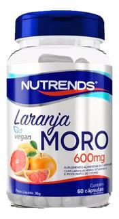Laranja Moro 600mg Morosil Morofit 60 Capsulas Lançamento